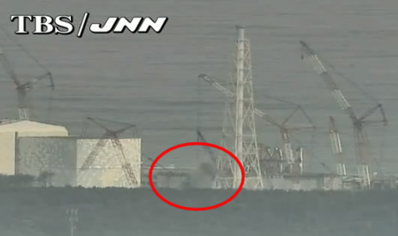 Black and white smoke came out from near reactor3 for 40 mins on 10/30 and 9/4/2012