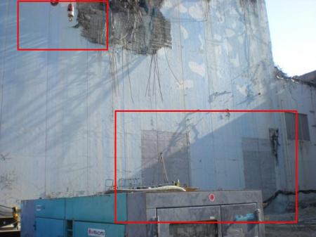 Reactor4 got another hole on 3rd floor of the south side and 2 door-looking marks on the 1st floor 2