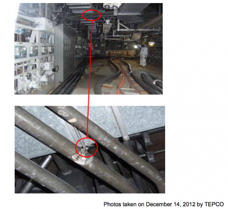 "2 Water leakage from air-conditioning duct of reactor4, Tepco""It's rain water, not from SFP"""