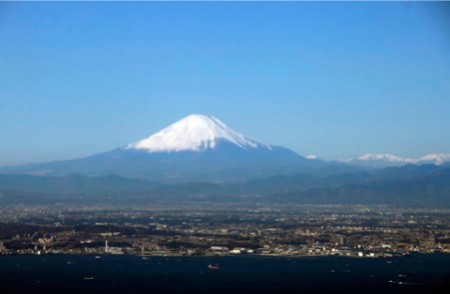"[Express] ""Mt. Fuji looks bulging"" 2"
