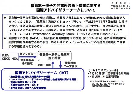 Japan plans to organize International advisory team for decommissioning of Fukushima plant