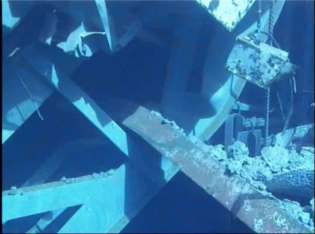 5 Photos and videos of Tepco's SFP investigation in reactor3