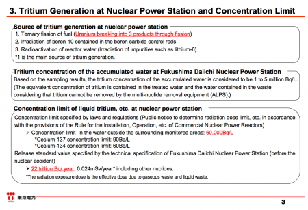 Tepco takes over 56 years to discharge all tritium from retained water on the most optimistic assumption
