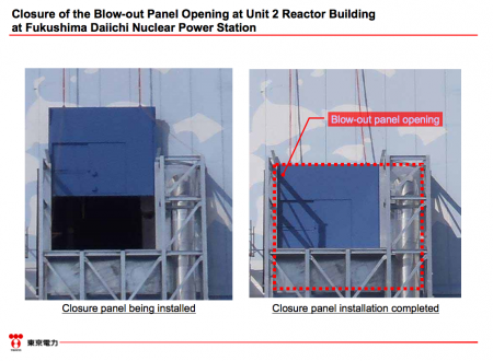6 Tepco took 2 years to close the blow-out panel of reactor2