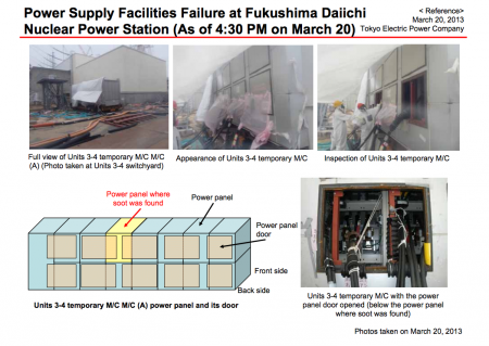 Tepco released the report about the panel board and the mouse in English