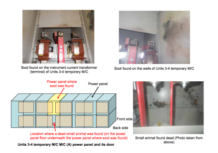 2 Tepco released the report about the panel board and the mouse in English