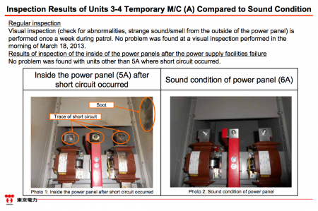 """5 [Power stoppage] Tepco sounds serious, """"Electric shock mark was found on the dead mouse"""""""