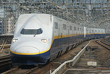 Highly radioactive dust accumulated in the body of Shinkansen with no place to stock