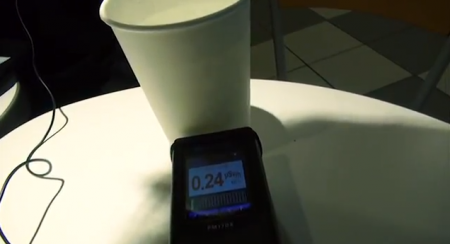 2 [Video] 0.60~0.80 μSv/h measured from a man in Ibaraki directly on his body