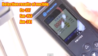 [Video] Am-241 measured in the atmosphere in Hitachi city Ibaraki, 100 km from Fukushima nuclear plant