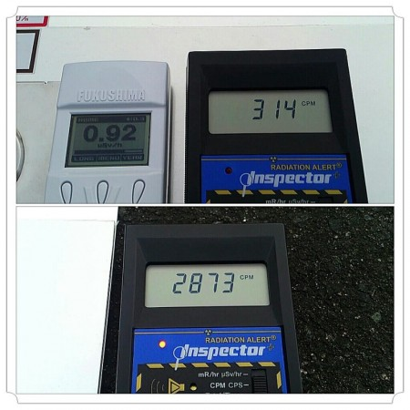 "2 Citizen's measurement, ""β dose is 2~10 times much as γ dose in Minamisoma Fukushima and Miyagi"""