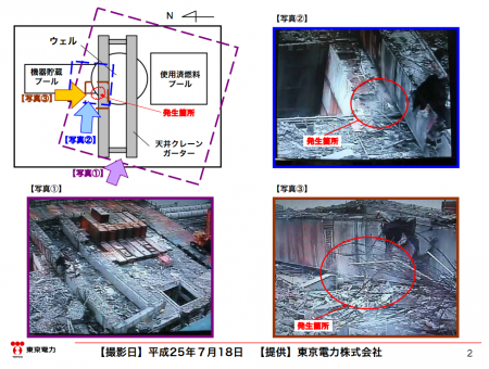 """2 [Steaming reactor3] Tepco """"The steam is the heated rain, same thing happened last year but didn't report it"""""""