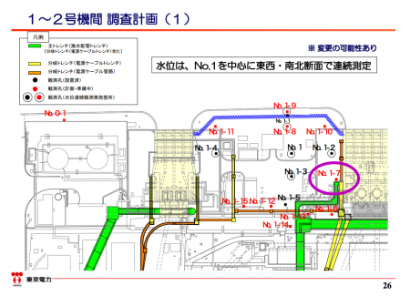 Fukushima worker had 0.89 mSv exposure at boring making mission