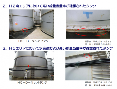3 more tank leakages found / β-ray 29.8 mSv/h
