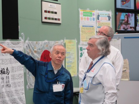 Dr. Ernest Moniz from DOE visited Fukushima plant / Actual purpose of their visiting JP is not known
