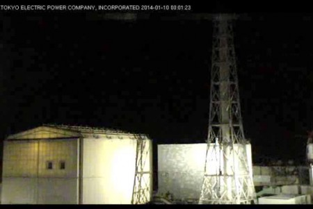 New Fukushima Live camera focuses above the buildings / doesn't show anything on-going on the ground