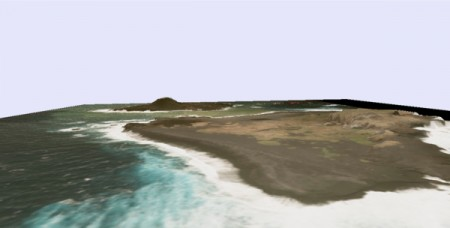 4 JP Gov made 3D maps of new volcanic island south offshore of Tokyo