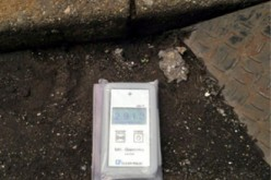 [Photo] 4.3 μSv/h on the street of Matsudo city Chiba