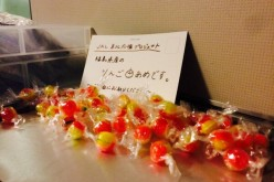 "[Photo] JAL serves Fukushima candy for free on board / ""Support by eating"""