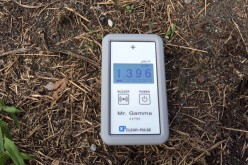 1.4 μSv/h measured in Edogawa ward Tokyo after Typhoon Neoguri passed – Photo