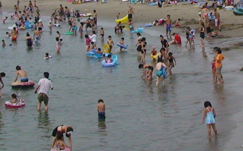 Ibaraki prefecture doesn't check Tritium in swimming beach seawater lower than 20,000 Bq/m3
