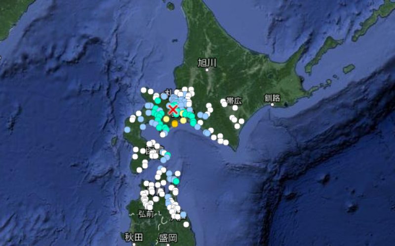 "M5.8 quake hit South part of Hokkaido ""Very shallow"""