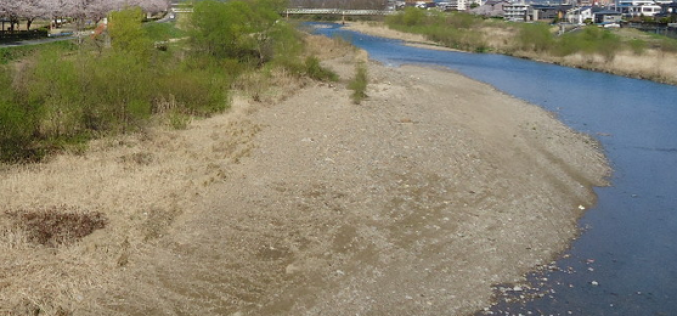 Ministry of Land awarded a Fukushima river a prize of the clearest river in Japan