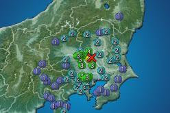 "M4.3 South Ibaraki / Reader ""Very short, felt like something exploded underground"""