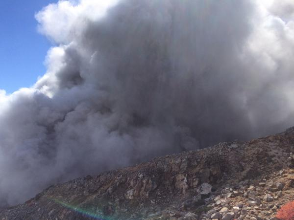 4 Volcano erupted in the central Japan : Over 10 people cardiopulmonary arrest, still 43 missing