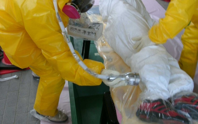 Fukushima worker fell ill, sent to hospital by air ambulance / Tepco rejects announcing the name of disease