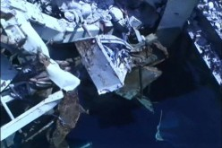"Tepco ""570 kg of debris dropped on 10 fuel assemblies in SFP3, can't see the fuel but everything is ok"" – Video"