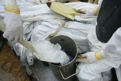 Tepco to give up the preceding frozen wall and directly fill the trenches with cement instead