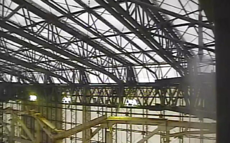 Tepco started dismantling Reactor 1 cover – Video
