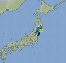 2 M5.8 hit Fukushima offshore : 2 more major quakes