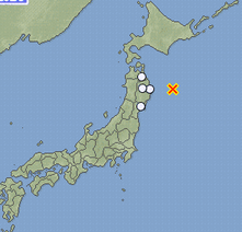 3 M5.8 hit Fukushima offshore : 2 more major quakes