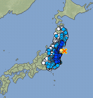 M5.8 hit Fukushima offshore : 2 more major quakes