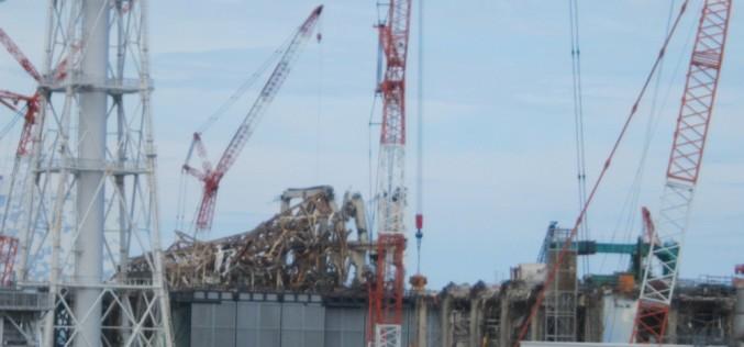 Refueling machine of Reactor 5 malfunctioned