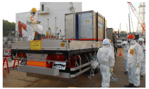 2 Tepco to start scanning inside of Reactor 1 in early February by using muon