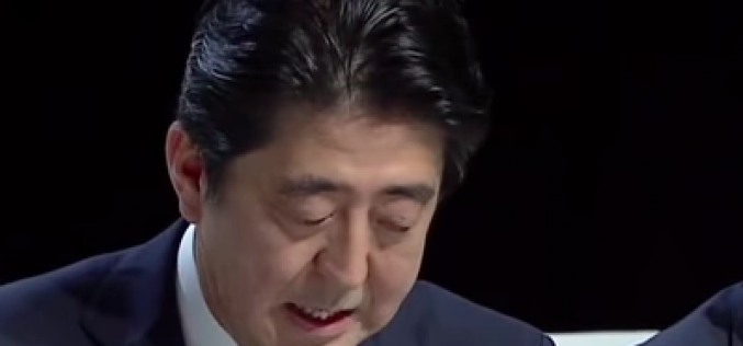 "JP PM Abe ""It is not proper to say Fukushima is settled"""