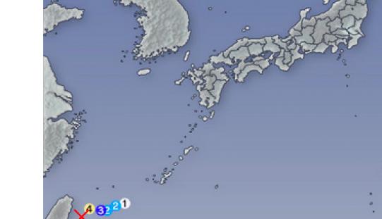 M6.8 in Yonagunijima island / 5 aftershocks within 1.5 days