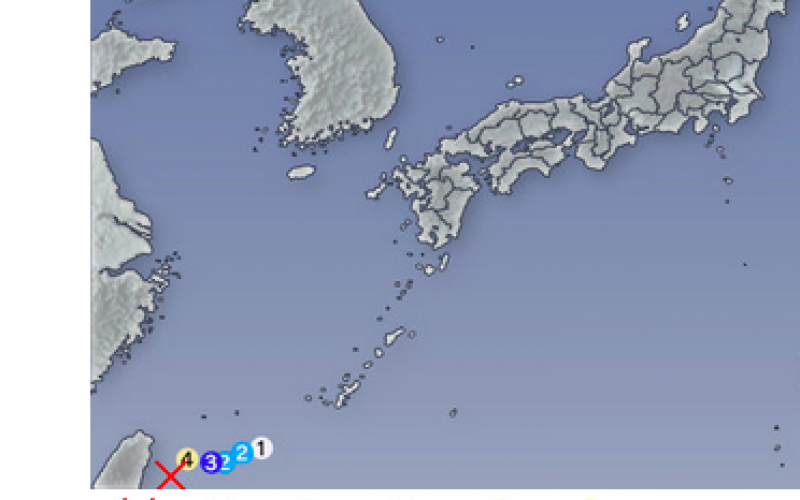 M6.8 in Yonagunijima island / 5 aftershocks within 1.5 days