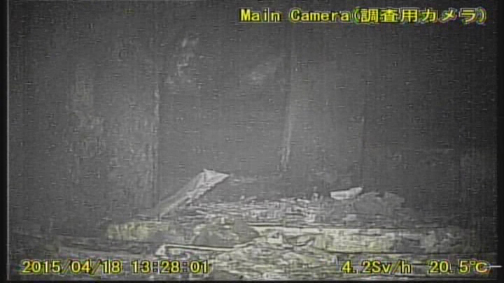 8 Tepco decided to abandon the second robot in Reactor 1 again : Camera went out of order due to high level of radiation