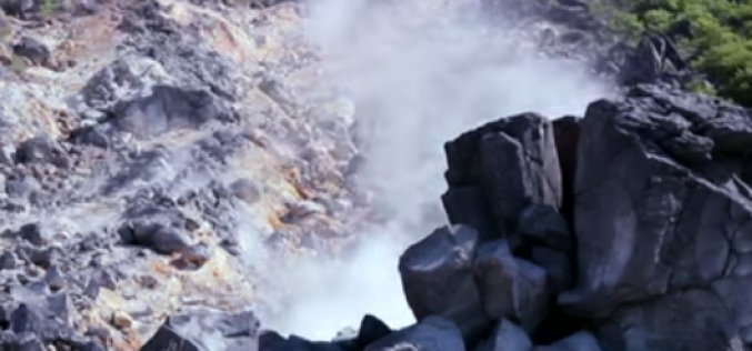 Expert points out the possibility of magma coming up under Mt. Hakone