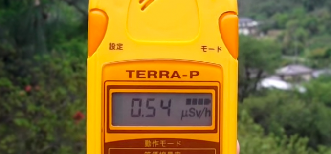 [Video] Still 4.8 μSv/h measured in a park of Fukushima city