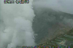 "JMA, Mt. Hakone ""splashed"" something like volcanic ash / Volcanic earthquake explosively increasing"