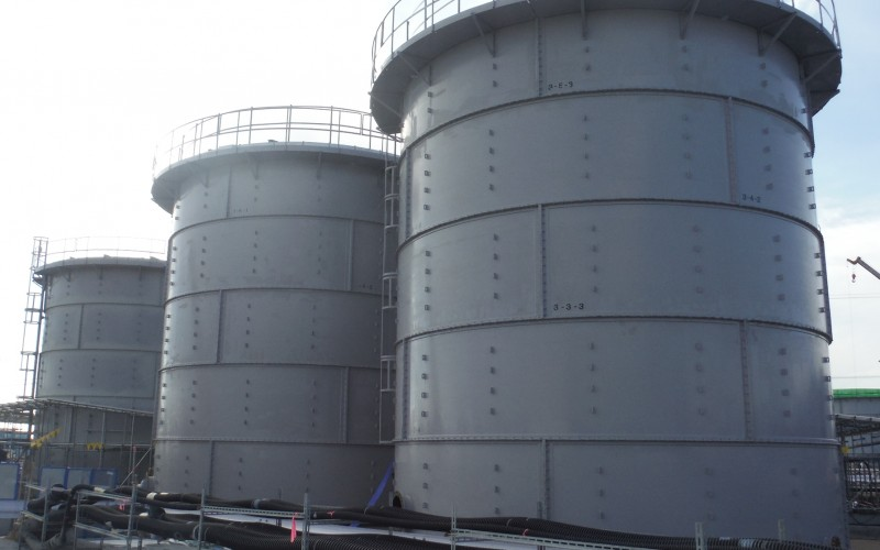 Tepco failed in purifying all the contaminated water by deadline
