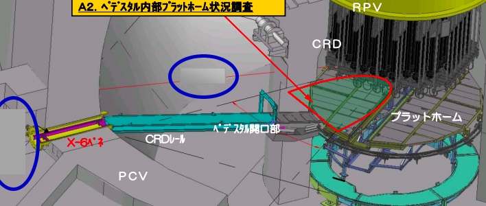 1.2 Sv-h measured on unidentified substance overflowing of Reactor 2 vessel - Two parts concealed on Tepco's source