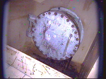 3 1.2 Sv:h measured on unidentified substance overflowing of Reactor 2 vessel : Two parts concealed on Tepco's source