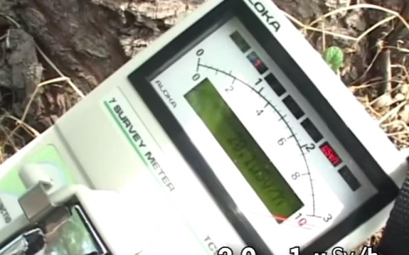 [Video] 20 μSv/h still detected in Fukushima city