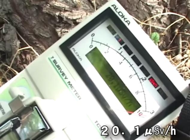 [Video] 20 μSv:h still detected in Fukushima city